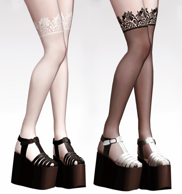 WF Lace Stocking