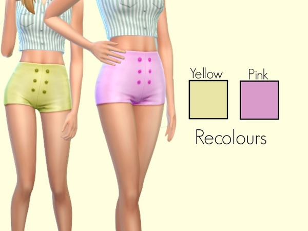 Adults Pastel Shorts Recolours by Twinsimmersx