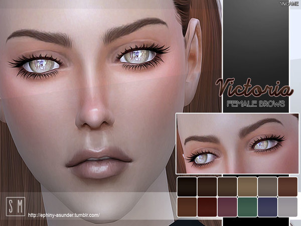 [ Victoria ] - Female Brows by Screaming Mustard