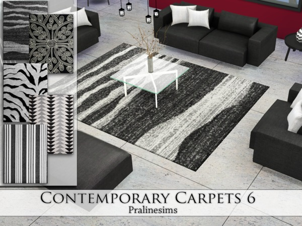 Contemporary Carpets 6 by Pralinesims