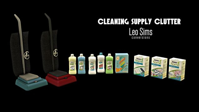 CLEANING CLUTTER Conversions by Leo-Sims