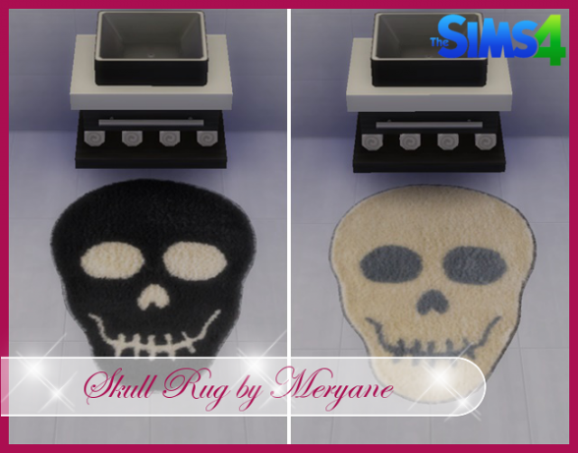 Skull Rugs by Meryane