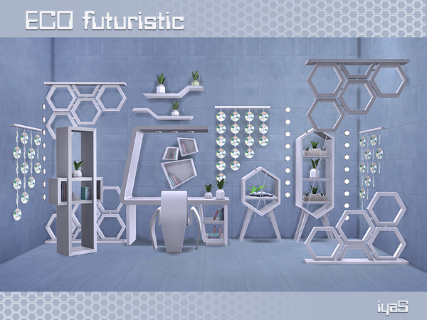 Eco Futuristic set by soloriya