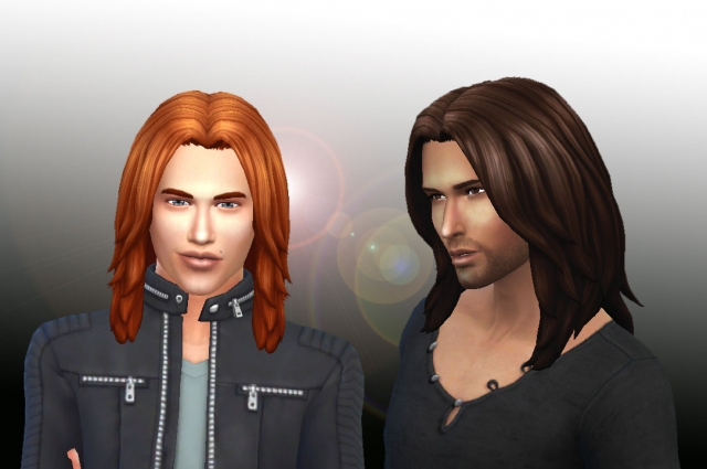 Dynamic Hairstyle for Men by Kiara24