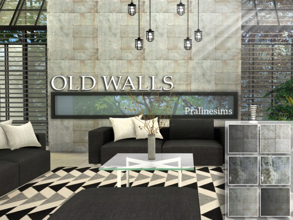 Old Walls by Pralinesims