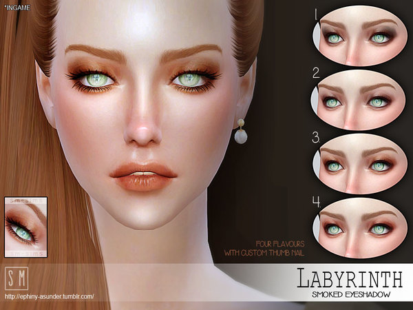 [ Labyrinth] - Smoked Eyeshadow by Screaming Mustard