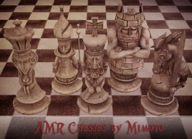 Alice Madness Returns: Chess (AMR: Шахматы) by Mimoto