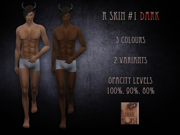 R male skin 1 - dark by RemusSirion