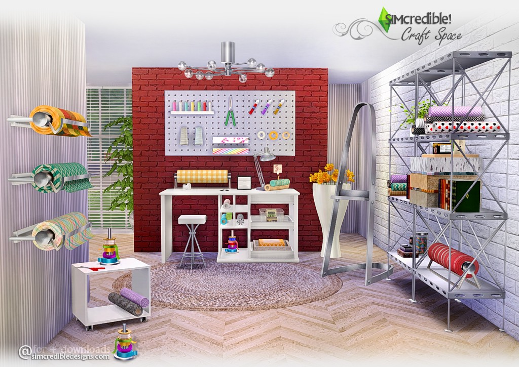 Craft Space by Simcredible Designs