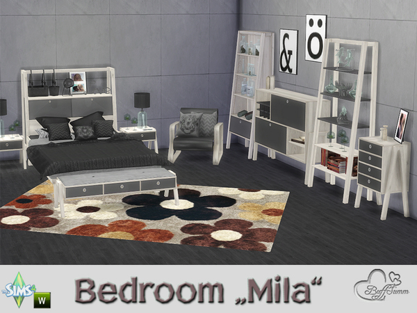 Bedroom Mila by BuffSumm