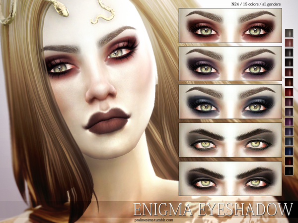 Enigma Eyeshadow N24 by Pralinesims