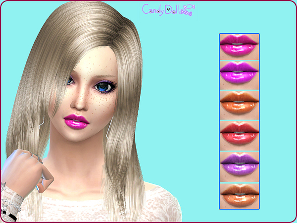CandyDoll Shiny Cute LipGloss by DivaDelic06