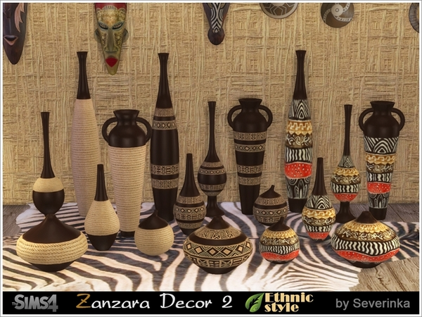 Zanzara Decor 2 by Severinka