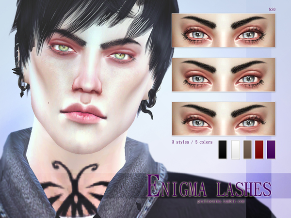Enigma Lashes N30 by Pralinesims