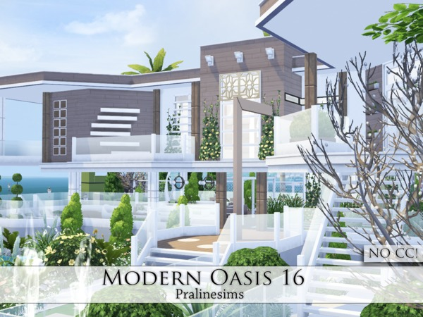 Modern Oasis 16 by Pralinesims