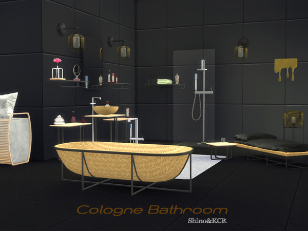 Cologne Bathroom by ShinoKCR