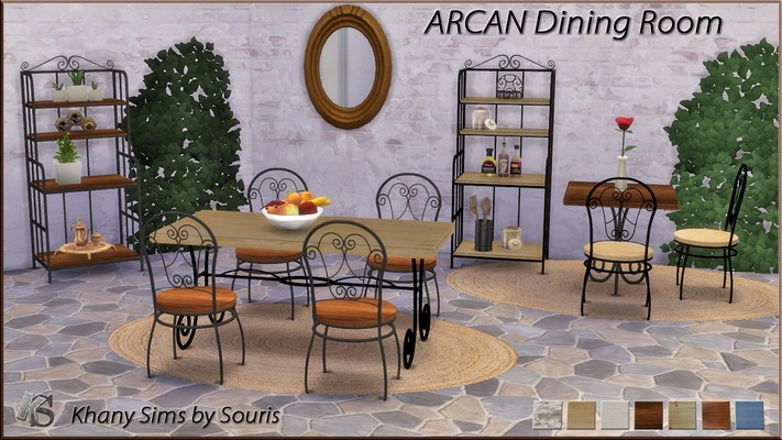 Arcan Dining Set by Souris