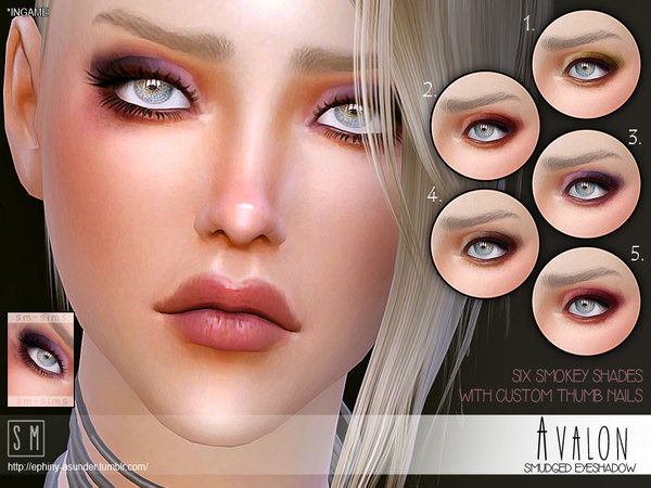 [ Avalon ] - Smudged Eyeshadow by Screaming Mustard