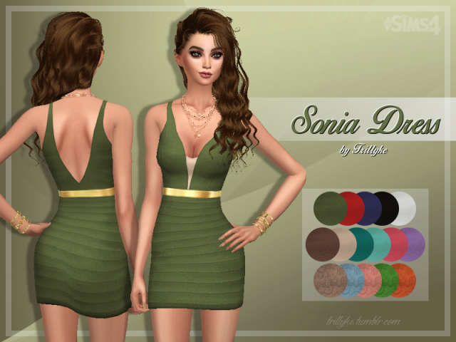 Sonia Dress by Trillyke