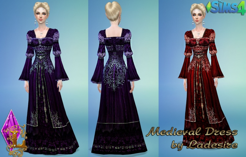 Medieval Dress by Ladesire