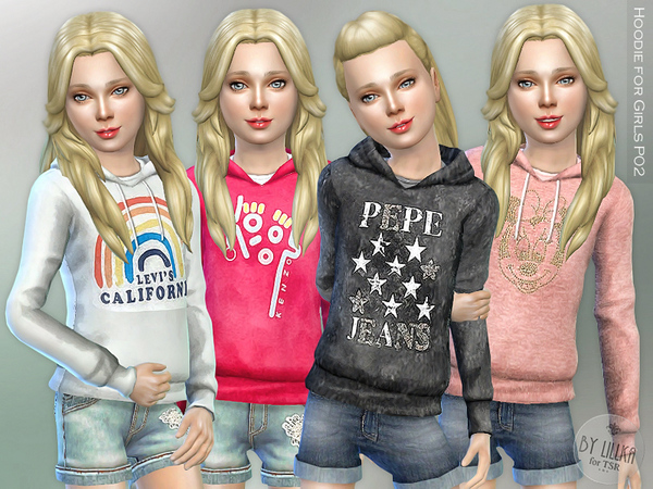 Hoodie for Girls P02 by lillka