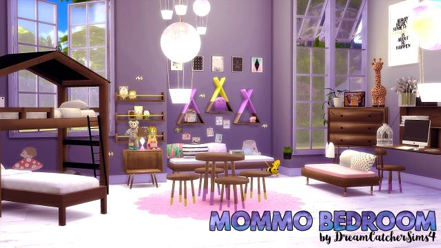 Mommo Bedroom Set by DreamCatcher