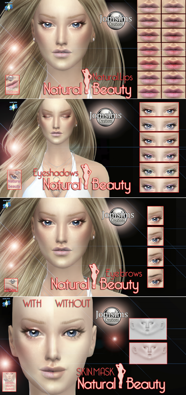 New Natural Beauty Set by JomSims