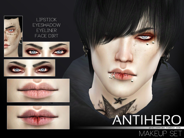 Antihero Makeup Set by Pralinesims