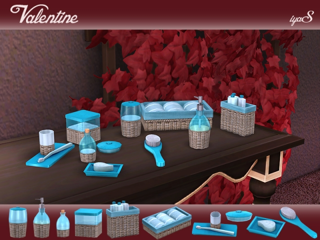 Valentine Bathroom Set от soloriya