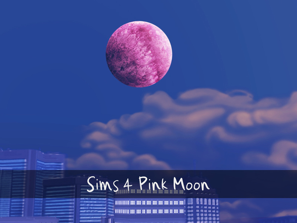 Pink Moon by Xraitha