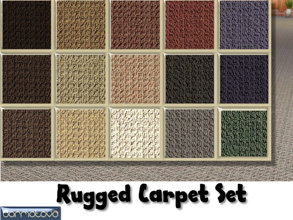 Rugged Carpet Set by abormotova