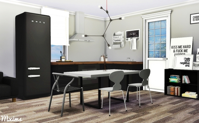 Scandinavian Dining Set by MXIMS