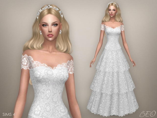 Conversion S3 wedding dress - Vintage (S4) by BEO