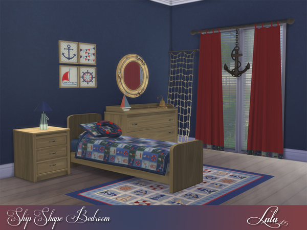 Ship Shape Boys Room by Lulu265