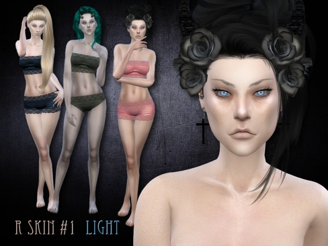 R female skin 1 - light by RemusSirion