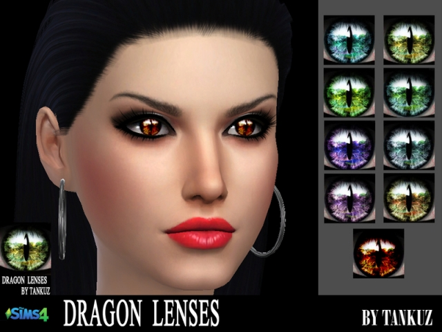 Dragon Lenses by Tankuz