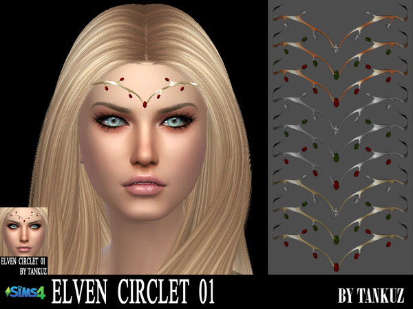 Elven Circlet 01 by Tankuz