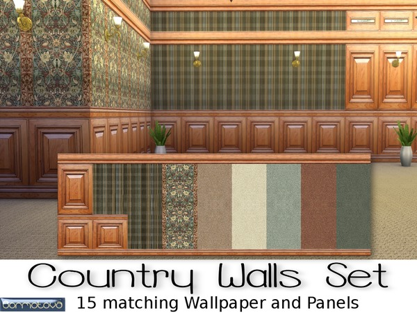 Country Walls Set by abormotova