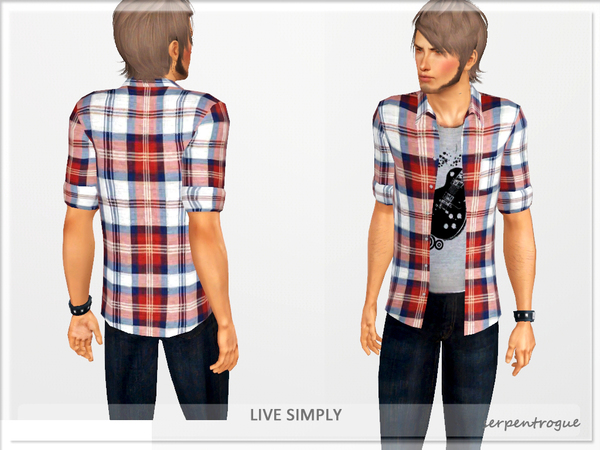 Live Simply (Male Version) by Serpentrogue