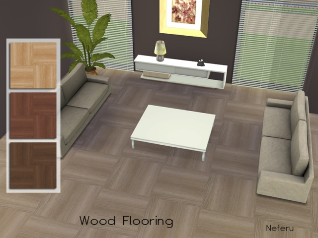 Wood Flooring by Neferu