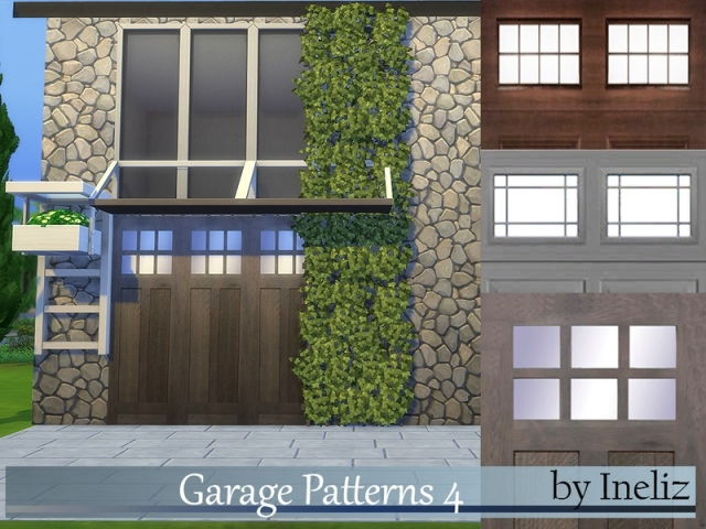 Garage Patterns 4 by Ineliz