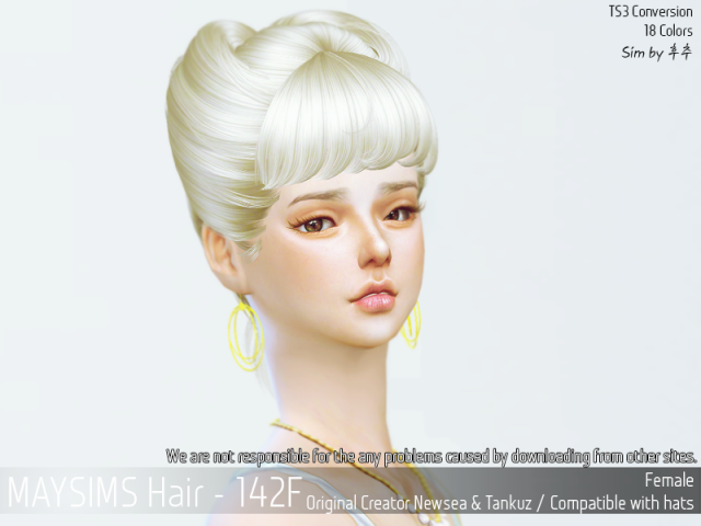 Hair 142 Female by MaySims