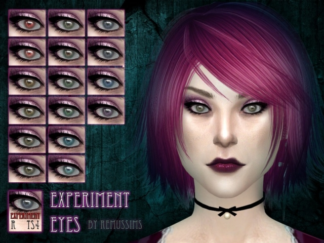 Experiment Eyes by RemusSirion