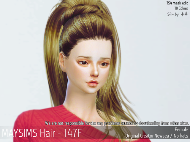 Hair 147 Female by MaySims