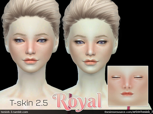 T-Skin 2.5 - ROYAL SKIN by tsminh_3
