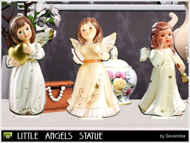 Little angels statue by Severinka