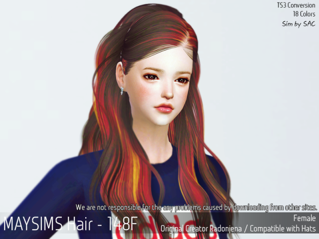Hair 148 Female by MaySims