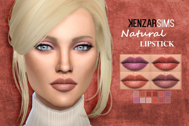 Natural Lipstick by Kenzar