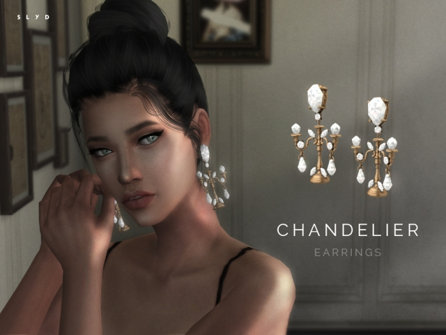Dolce & Gabbana Chandelier Earrings by Starlord