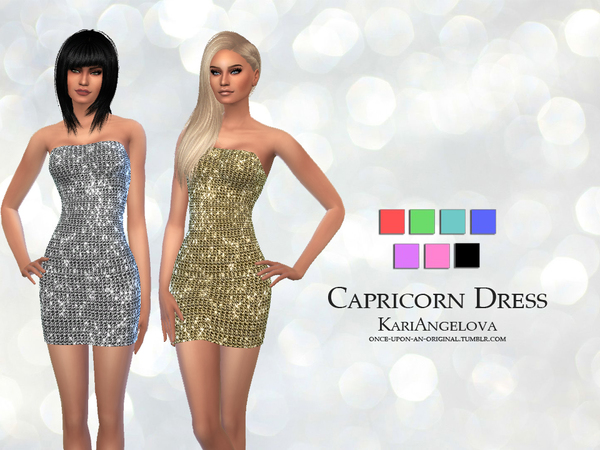 Capricorn Dress by KariAngelova